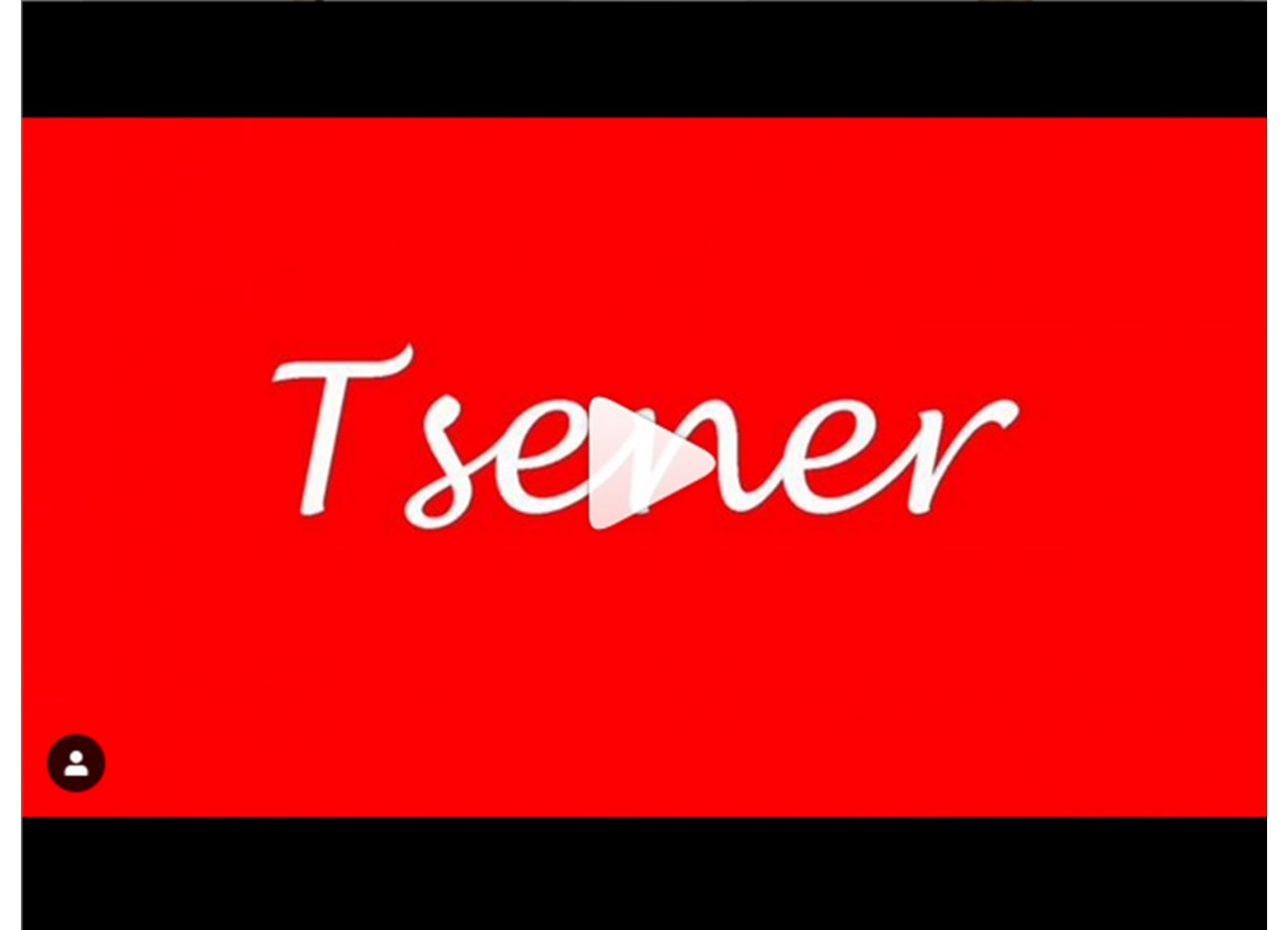 "Competition from our boutique ""Tsener"""
